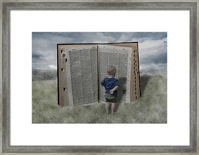 Exploration And Discovery Framed Print