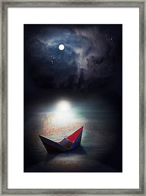 Exploration Framed Print