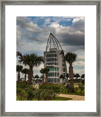 Exploration Tower Framed Print by Capt Gerry Hare