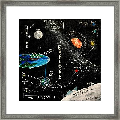 Explore And Discover Collector Edition Framed Print by Mandy Elliott