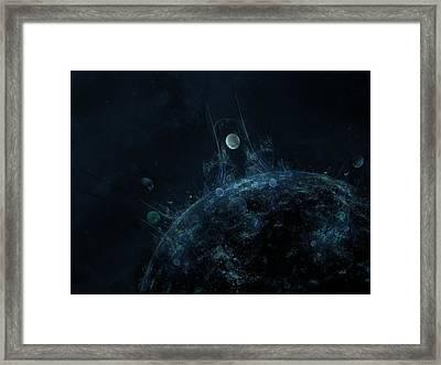 Explore The Depths Framed Print by Talasan Nicholson