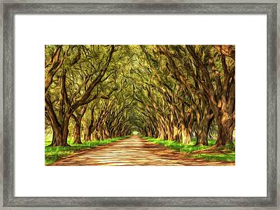 Exploring Louisiana - Paint Framed Print by Steve Harrington