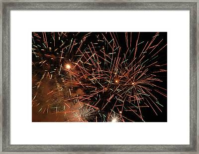 Explosion Framed Print by Clay Peters Photography