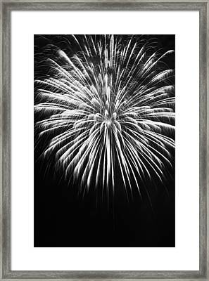 Explosion Framed Print by Colleen Coccia