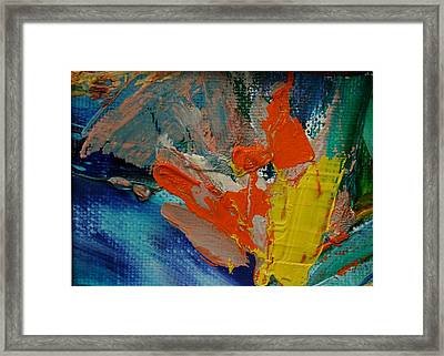 Explosion Framed Print by Karin Eisermann