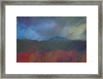 Explosion Nearby Framed Print