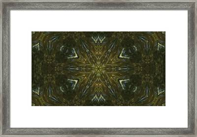 Explosion Of Colours 2 Framed Print by Quantum Space