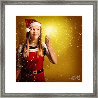 Explosive Christmas Gift Idea Framed Print by Jorgo Photography - Wall Art Gallery