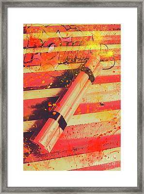 Explosive Comic Art Framed Print by Jorgo Photography - Wall Art Gallery