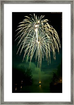 Explosive Flowers 12 Framed Print by Heinz - Juergen Oellers