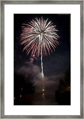 Explosive Flowers 7 Framed Print by Heinz - Juergen Oellers