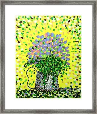 Explosive Flowers Framed Print by Alan Hogan