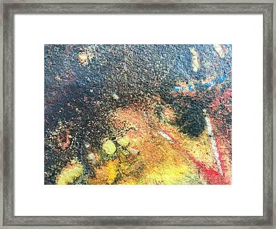 Explosive Sunrise Framed Print