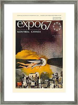 Expo 67 Framed Print by Andrew Fare