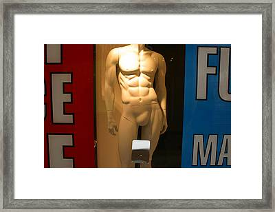 Exposed Framed Print by Jez C Self
