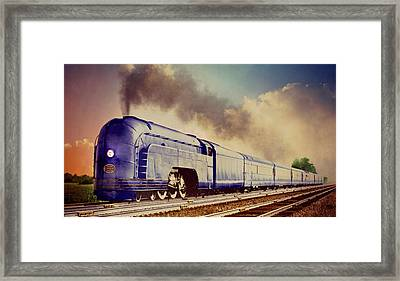 Express Framed Print