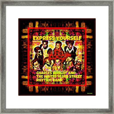 Express Yourself Now Framed Print