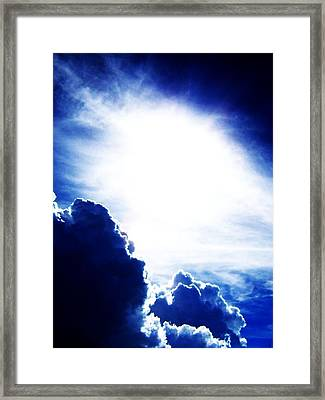 Expressing Light  Framed Print