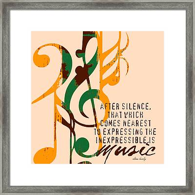 Expressing The Inexpressible Framed Print