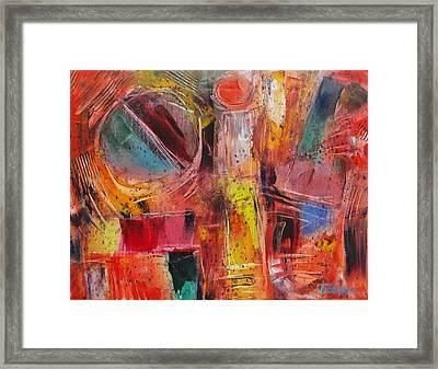 Expression # 8 Framed Print