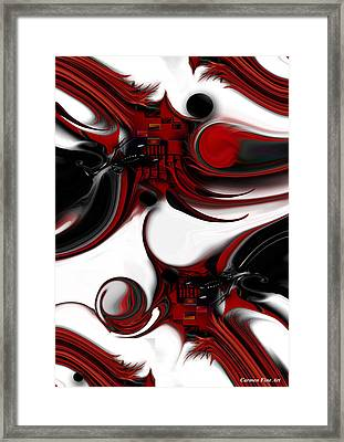 Expression And Creation Framed Print