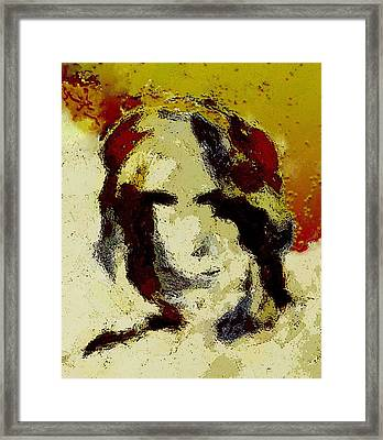 Expression Framed Print by LeeAnn Alexander