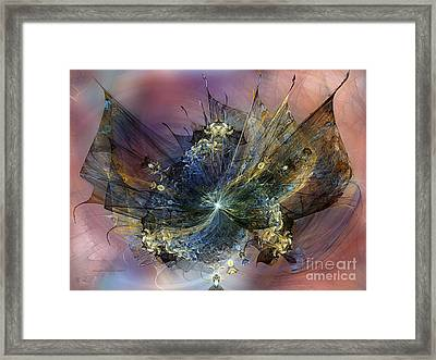Expression Of Joy Framed Print by Karin Kuhlmann