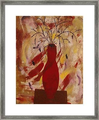 Expression Series Number One Framed Print by Ruth  El