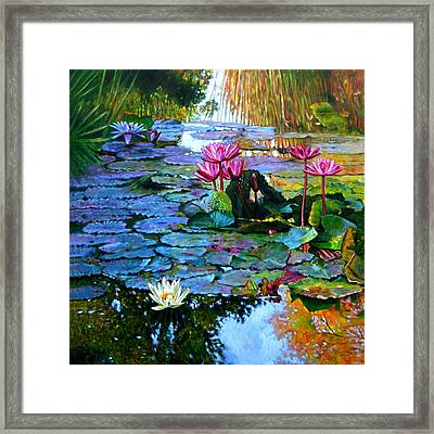 Expressions From The Garden Framed Print