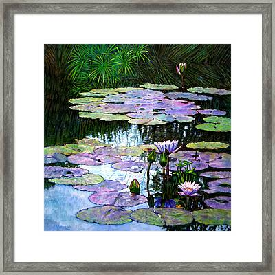 Expressions Of Love And Peace Framed Print