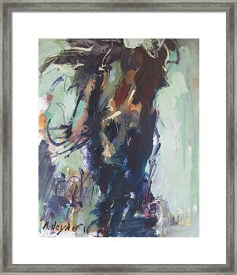 Framed Print featuring the painting Expressive by Robert Joyner