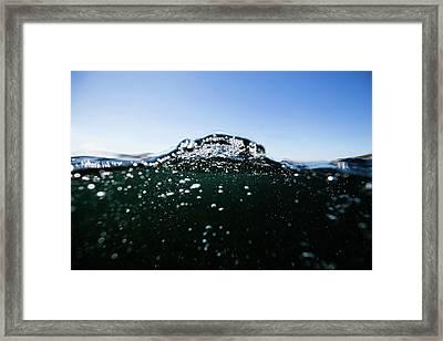 Expressive Water Framed Print