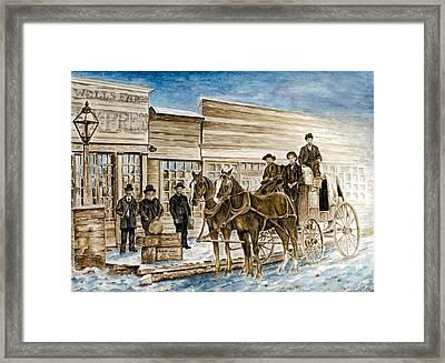 Expressly Western Framed Print