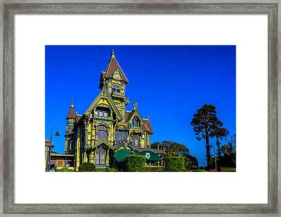 Exquisite Carson Mansion  Framed Print by Garry Gay
