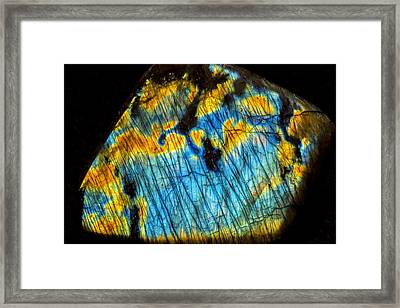Exquisite Luminescence Framed Print