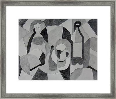 Extended Line Framed Print by Jamie Frier