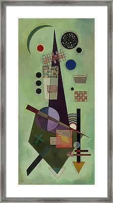 Extended Framed Print by Wassily Kandinsky