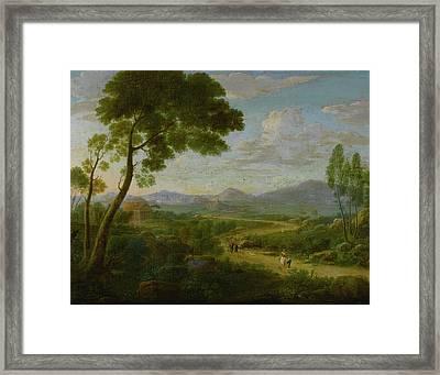 Extensive Landscape Framed Print