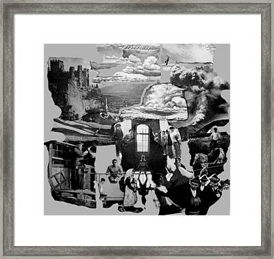 External Forces Internal Implosions Framed Print by Lee M Plate