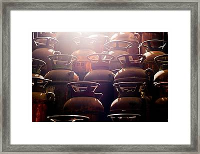 Extinguish Framed Print