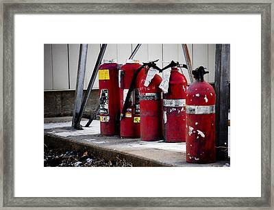 Extinguished Framed Print by Jame Hayes
