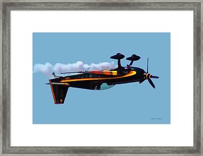 Extra 300s Stunt Plane Framed Print