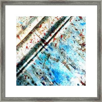 Extraction 2 Framed Print by Tom Druin