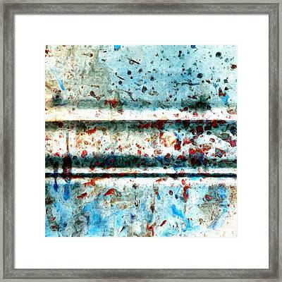 Extraction 3 Framed Print by Tom Druin