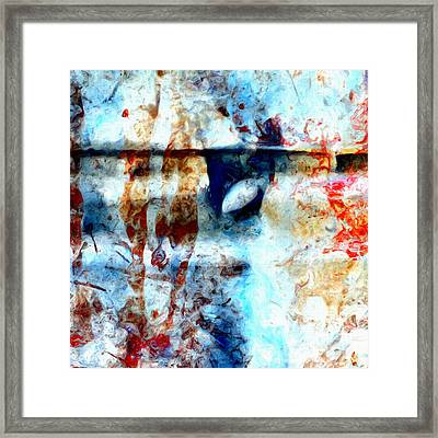 Extraction Framed Print by Tom Druin