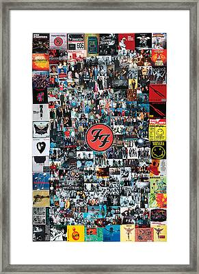 Extraordinary Hero Collage Framed Print