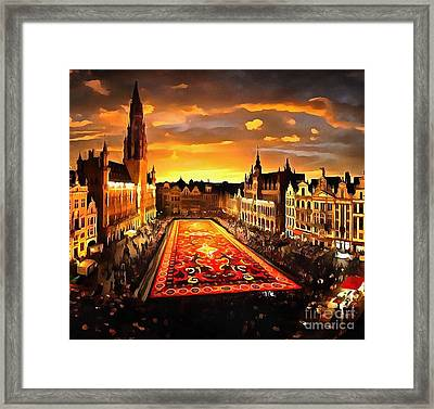 Extraordinary Places In The World Framed Print