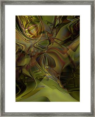 Extraterium Framed Print by Steve Sperry