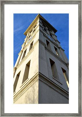 Extreme Angles Framed Print by Corinne Rhode