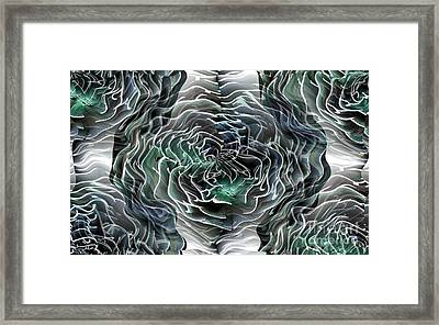 Extreme Extrusion Framed Print